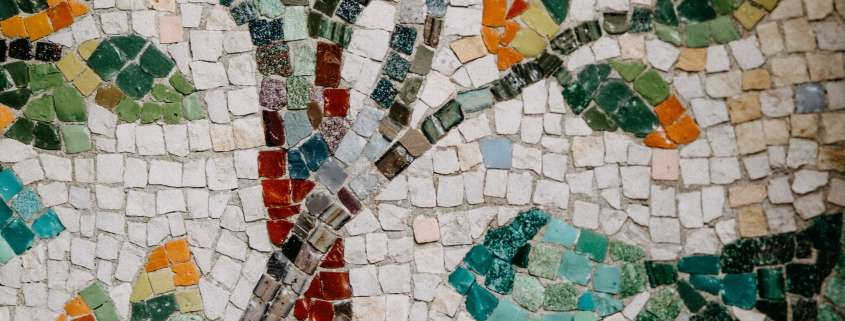 Details from a mosaic