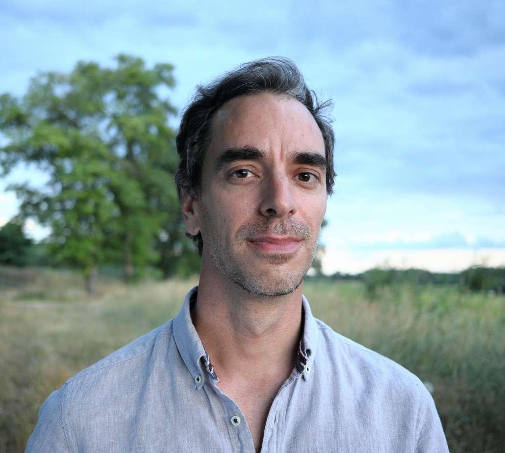 Portrait de Nicolas Escoffier dans la nature